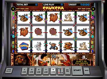 Автоматы с бонусом Chukchi Man