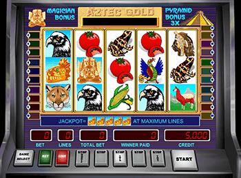 Казино на деньги Aztec Gold