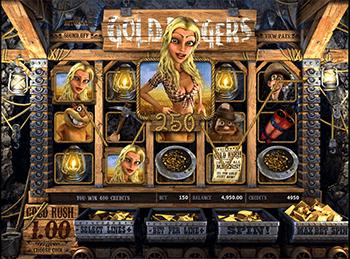 Автоматы с бонусами Gold Diggers