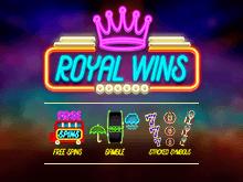 Выигрывайте деньги в автомате Royal Wins